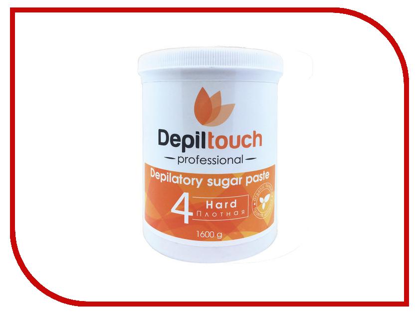 Домашний шугаринг Depiltouch Professional Сахарная паста Плотная 1600гр 87716 шугаринг вельвет купить