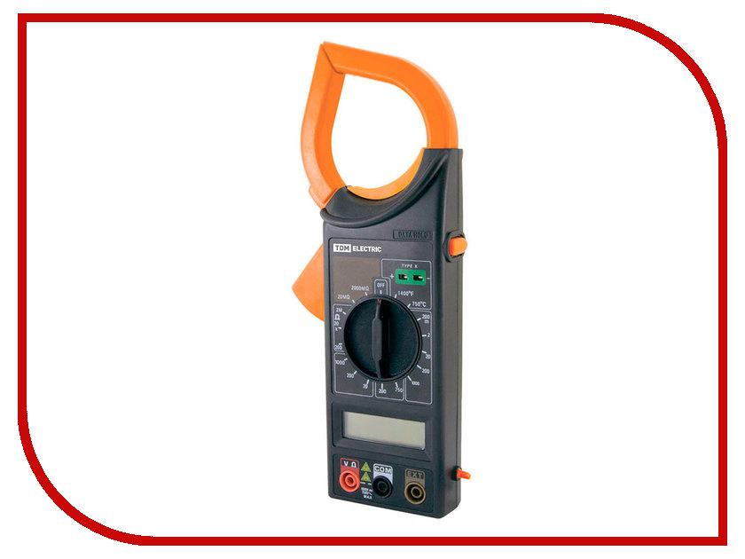 Токовые клещи TDM-Electric M266C SQ1005-0005 токоизмерительные клещи expert 266 iek