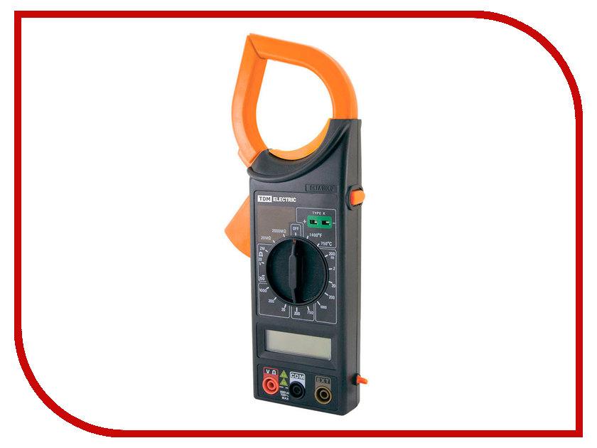 Токовые клещи TDM-Electric M266F SQ1005-0006 токоизмерительные клещи expert 266 iek