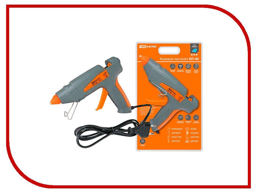 Термоклеевой пистолет TDM-Electric Алмаз КП-40 SQ1024-0101