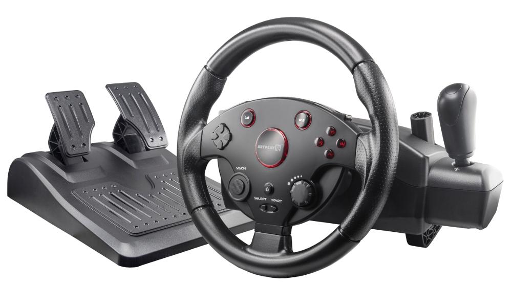 Руль Artplays Street Racing Wheel Turbo C900 руль speedlink black bolt racing wheel pc