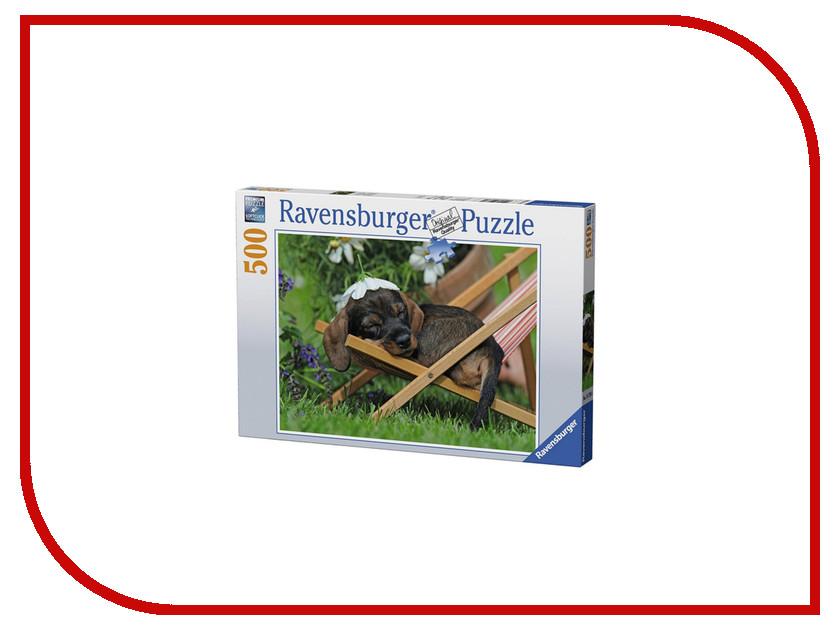 Пазл Ravensburger Очаровательная такса 14738 подставка для колец такса
