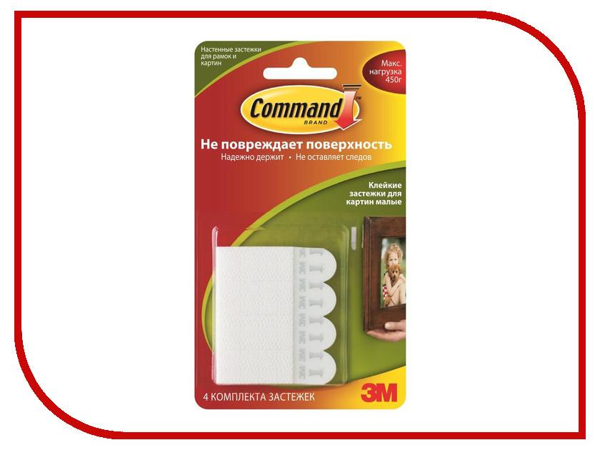 Застежки клейкие Command 131623