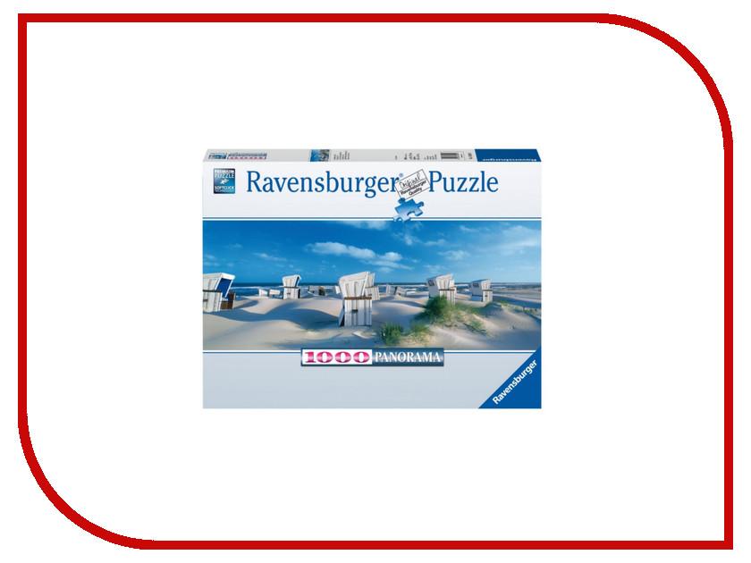 Пазл Ravensburger Пляжные корзинки на Зюлте 15054 пазлы ravensburger пазл панорамный пляжные корзинки на зюлте 1000 элементов