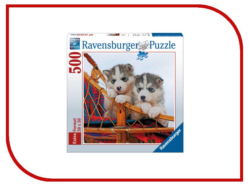 Пазл Ravensburger Щенки хаски 15230 пазл ravensburger белые щенки 14238