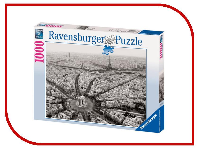 Пазл Ravensburger Черно-белый Париж 15736 ravensburger пазл черно белый париж
