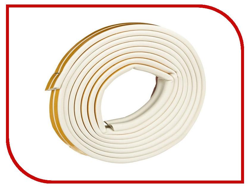 Уплотнитель для окон Е-профиль (резиновый) на клейкой основе White 10м 50-3-212 уплотнитель резиновый для тойота хайс