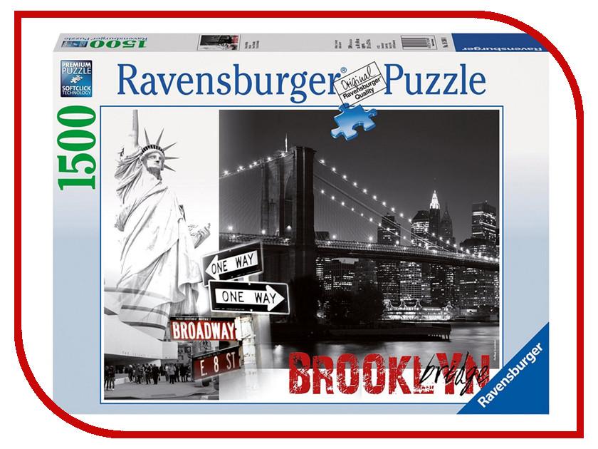 Пазл Ravensburger Бруклинский мост 16268 пазлы ravensburger пазл бруклинский мост 1500 элементов