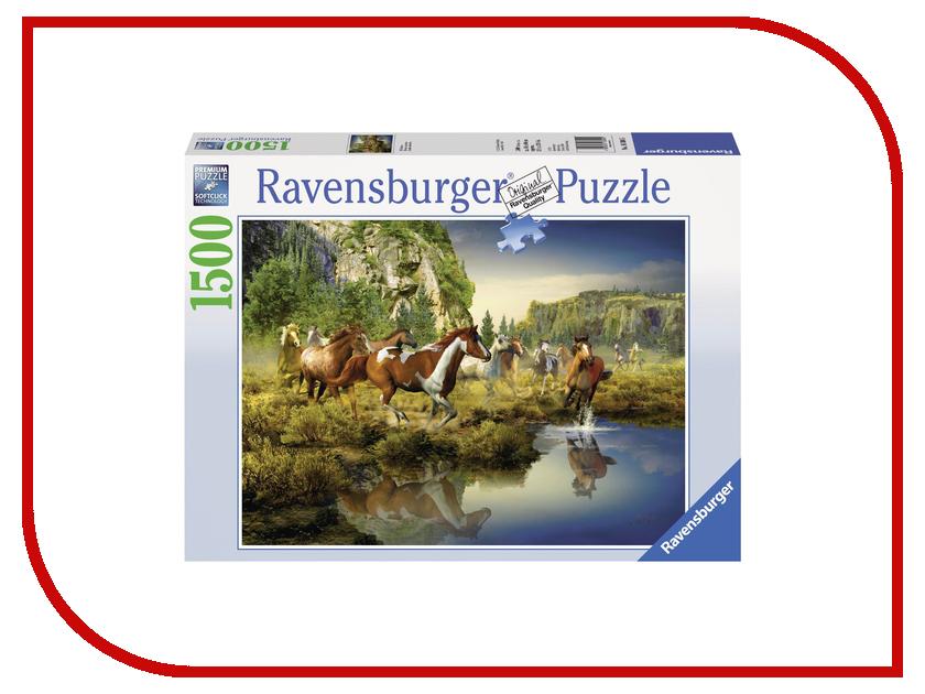 Пазл Ravensburger Дикие лошади 16304 дикие лошади у любой истории есть начало эксмо