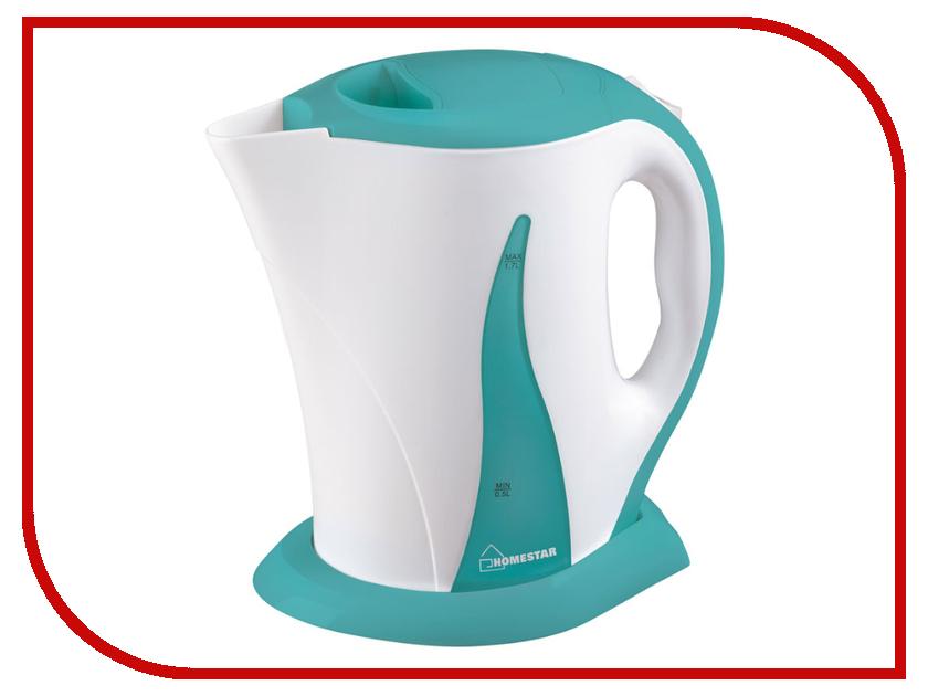 все цены на Чайник Homestar HS-1003 White-Turquoise онлайн