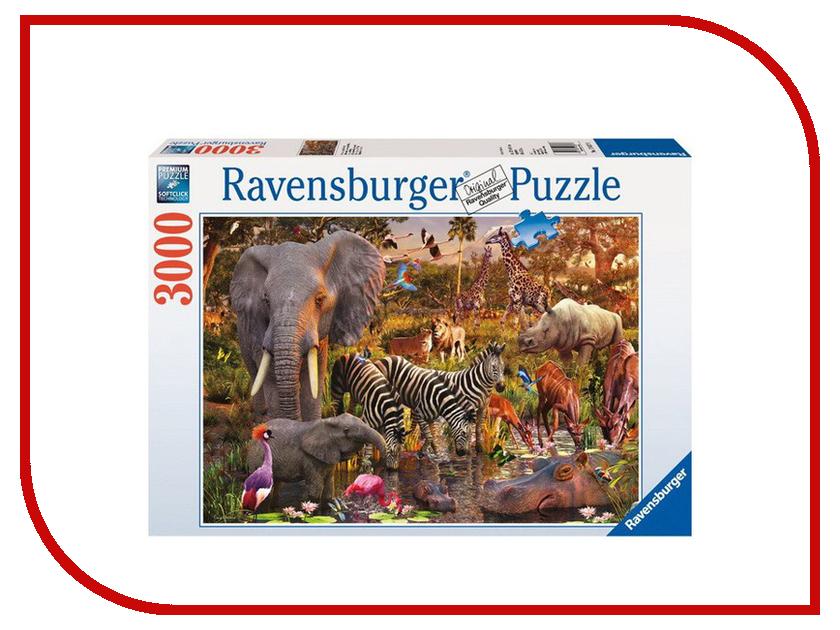 пазл животные африки Пазл Ravensburger Животные Африки 17037