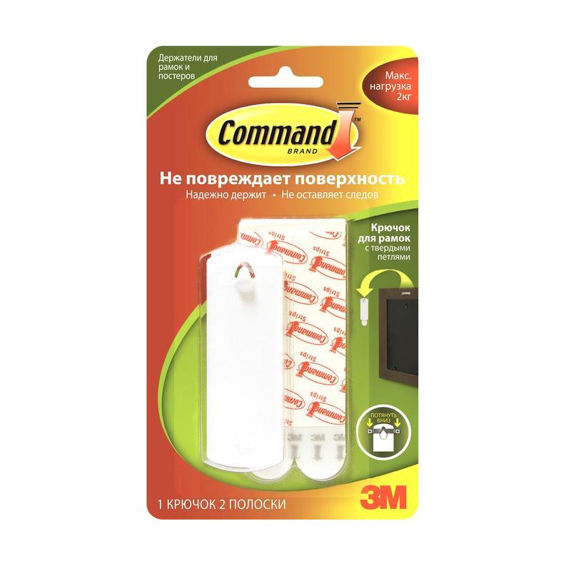 Крючок Command White 17040/168752 command 17091clr