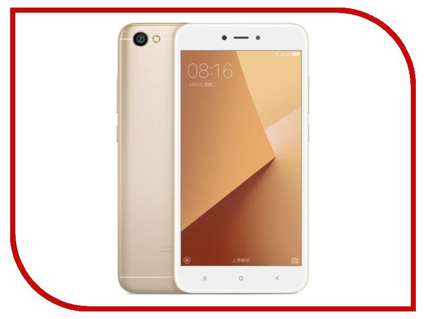 Сотовый телефон Xiaomi Redmi Note 5A 2Gb RAM 16Gb Gold сотовый телефон xiaomi redmi 4a 2gb ram 32gb grey