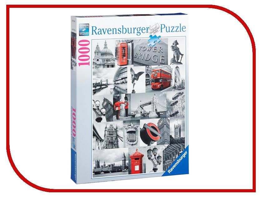 Пазл Ravensburger Лондон в картинках 19144 пазл ravensburger тула мун лондон 19372