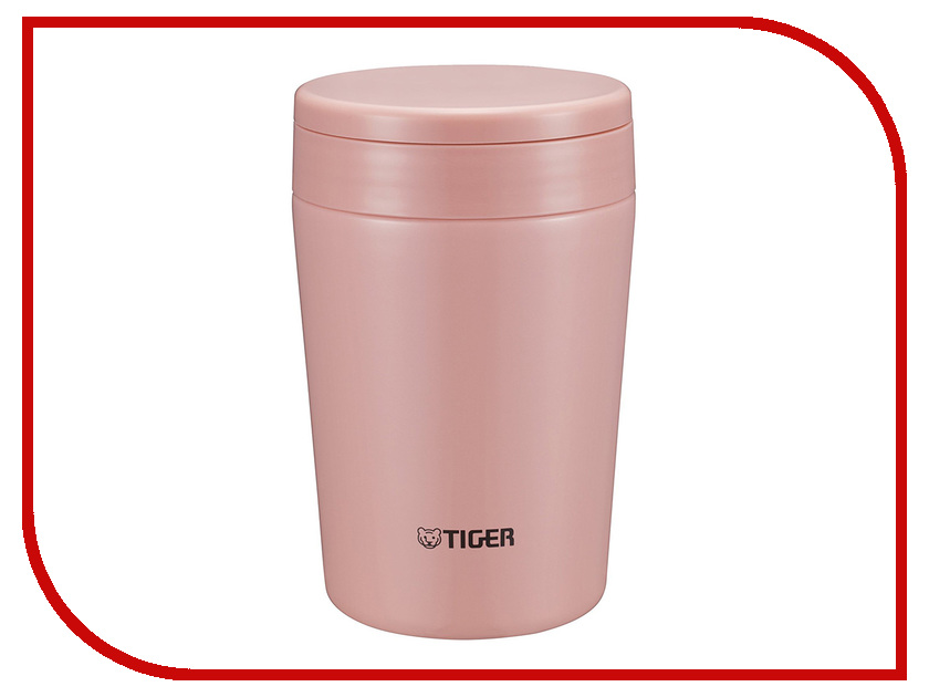 Термос Tiger MCL-A038 380ml Cream Pink термос tiger mcl a038 380ml mint blue