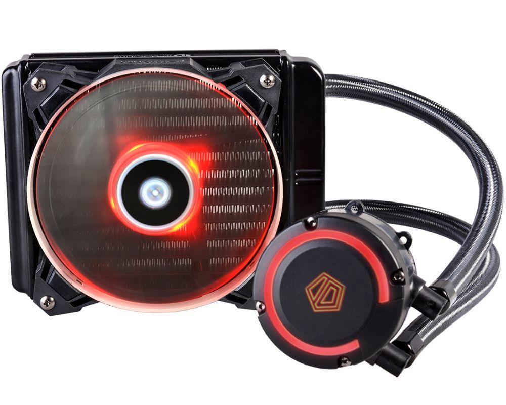 Водяное охлаждение ID-Cooling AuraFlow 120 Black (Intel LGA2011/2011-3/1150/1151/1155/1156/AMD AM2/AM2+/AM3/AM3+/AM4/FM1/FM2/FM2+) водяное охлаждение arctic cooling accelero hybrid iii 140 acacc00020a b