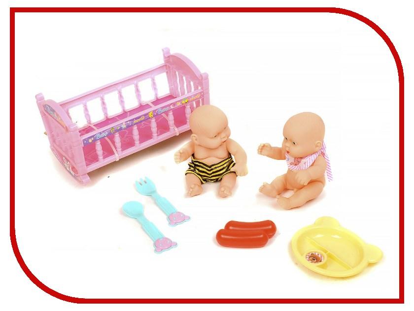 Кукла China Bright Пупс с аксессуарами ZY629478 игрушка china bright фотоаппарат 7540