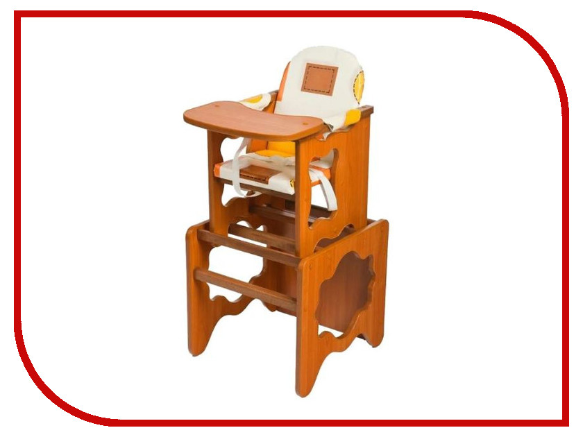 Стул ПМДК Премьер Капучино Орех 00000033547 стол стул для кормления пмдк октябренок капитошка светлый дуб