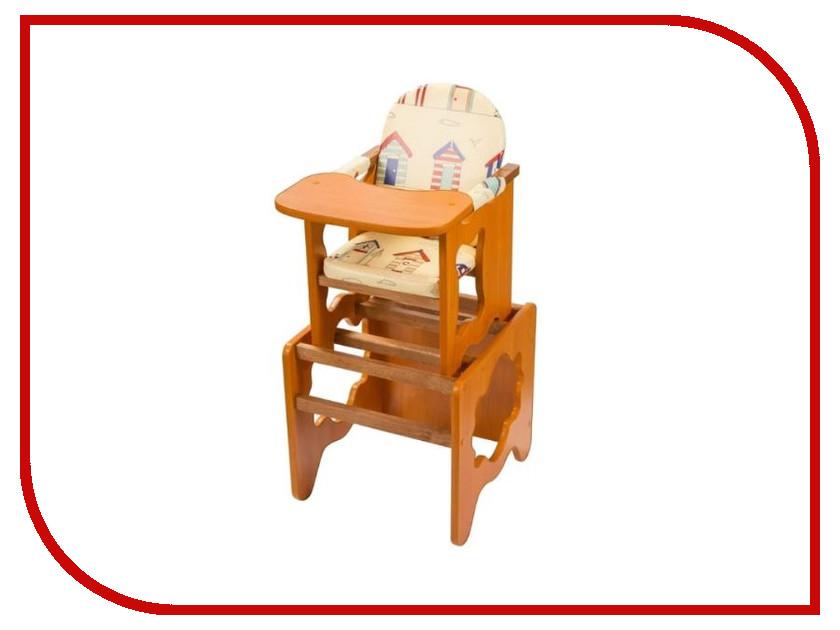 Стул ПМДК Премьер Лето Орех 00000668692 стул трансформер для кормления пмдк премьер полянка светлый орех