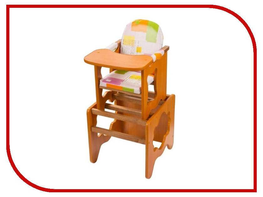 Стул ПМДК Премьер Модерн Орех 00000668693 стул трансформер для кормления пмдк премьер полянка светлый орех