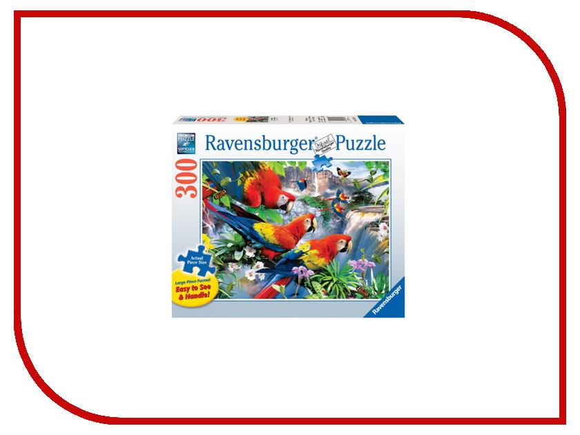 Пазл Ravensburger Попугаи Ара 13534 мерцающий песок попугаи