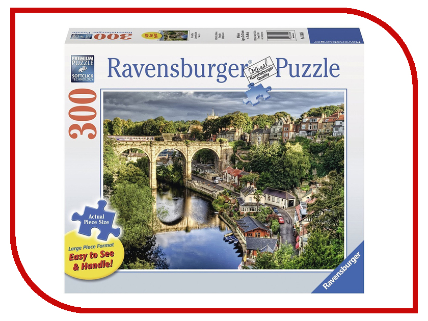 Пазл Ravensburger Мост над рекой 13564 объемный пазл тауэрский мост