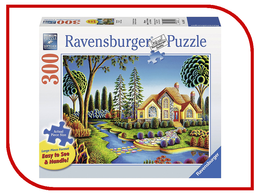 Пазл Ravensburger Дом мечты 13567 книги эксмо дом на улице мечты