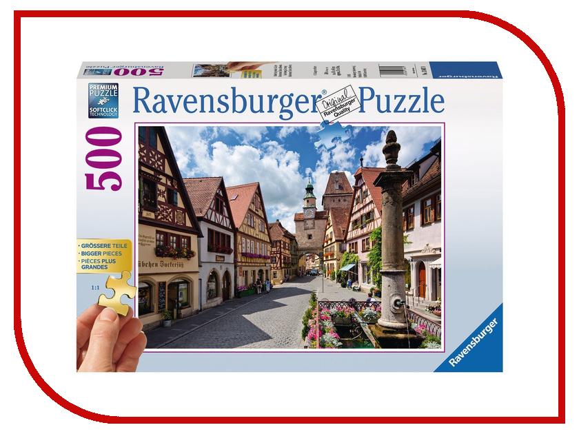 Пазл Ravensburger Ротенбург 13607 ravensburger пазл ротенбург 500 деталей