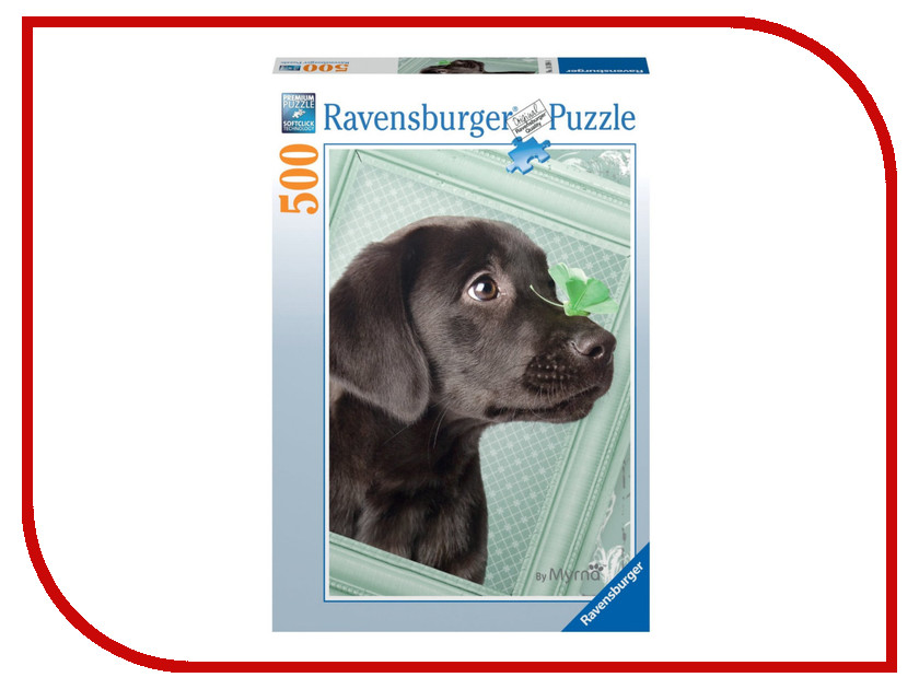 Пазл Ravensburger Счастливый щенок 14194
