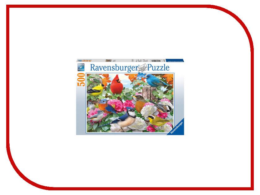 Пазл Ravensburger Птички в саду 14223 соколов птички