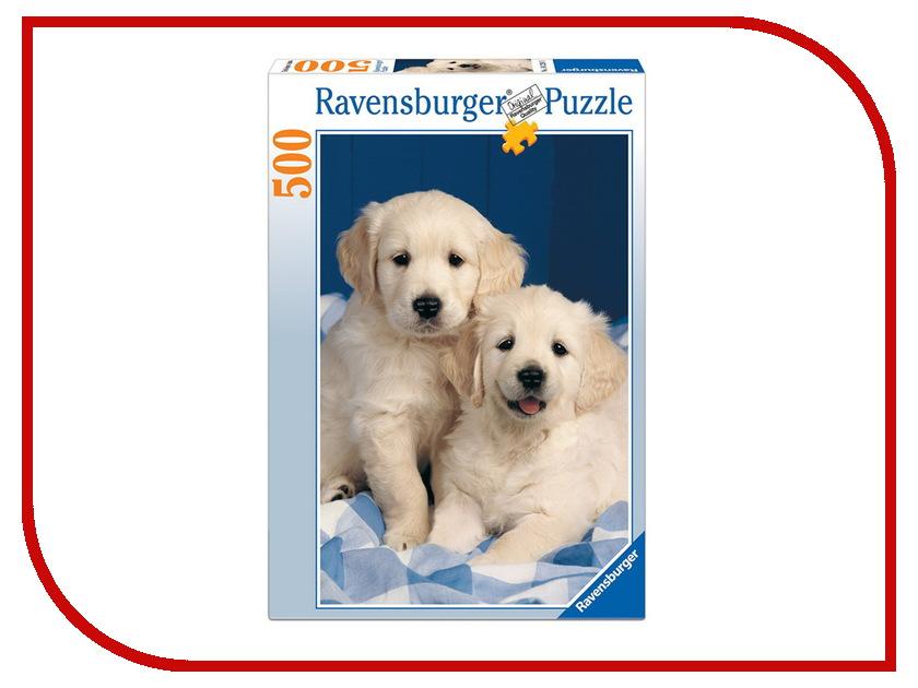 Пазл Ravensburger Белые щенки 14238 шлепки белые
