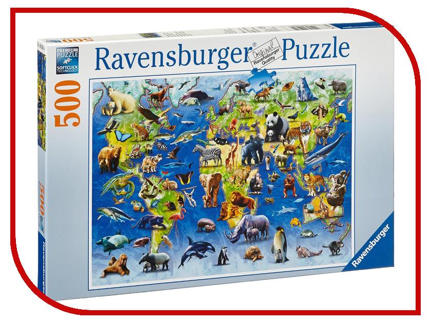 Пазл Ravensburger Редкие виды животных 14264