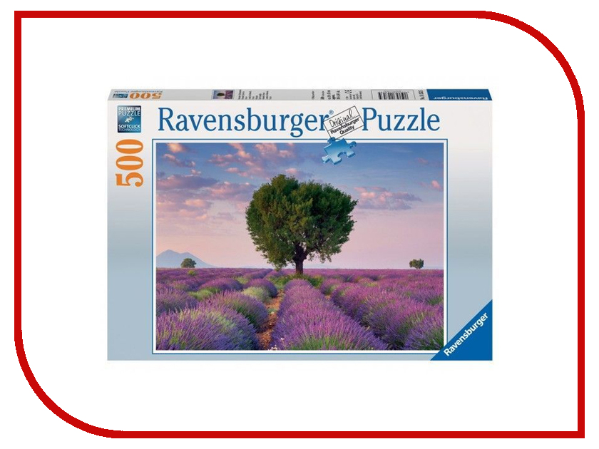 Пазл Ravensburger Лавандовое поле 14353