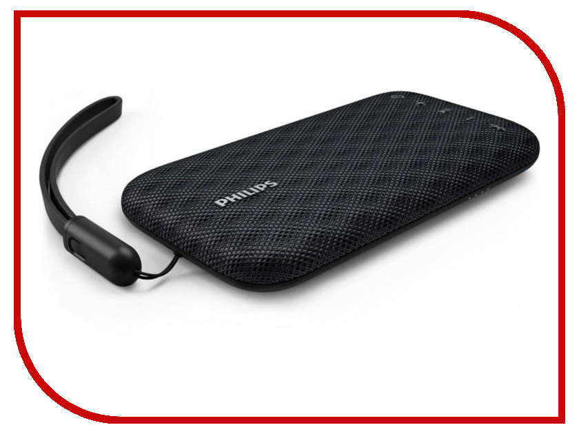 Колонка Philips BT 3900 Black rii rt503 2 4ghz wireless bt 3 0 backlit touchpad keyboard black