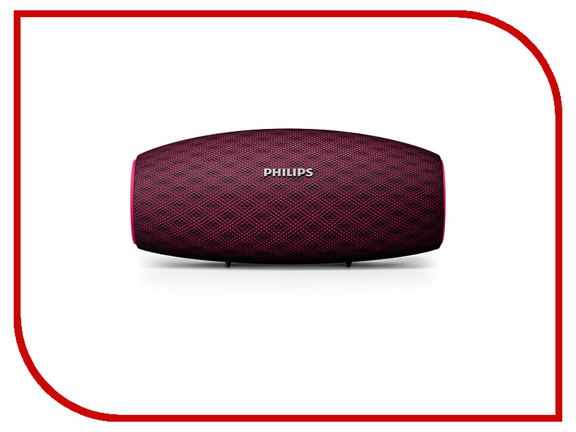 Колонка Philips BT 6900 Red колонка philips bt3600