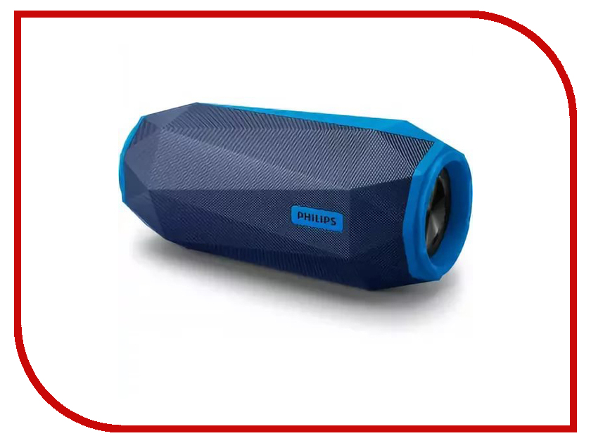 Колонка Philips SB 500 Blue колонка портативная philips p9xblk 10