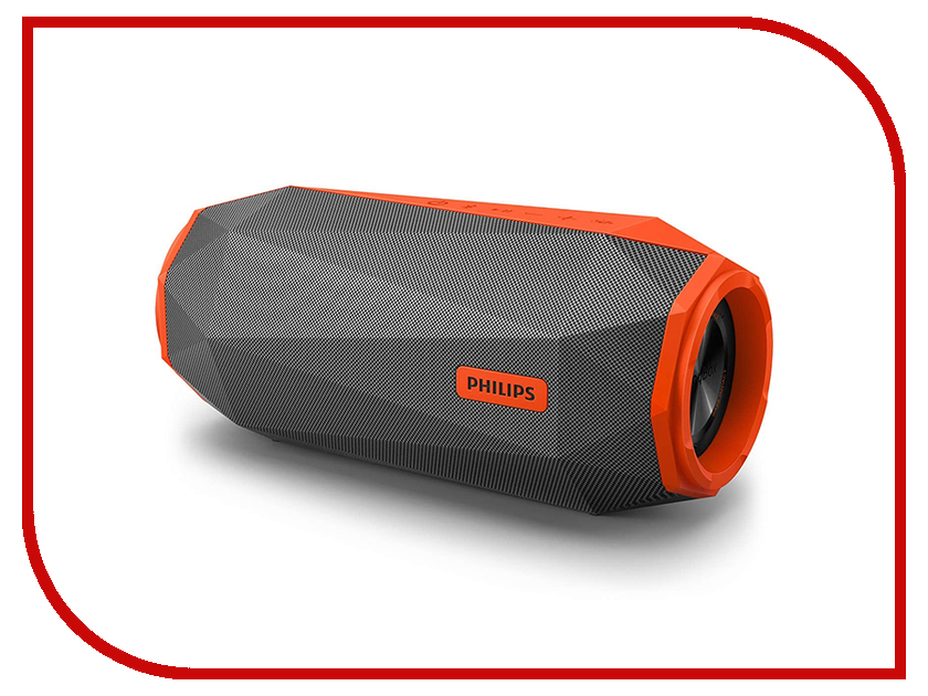 Колонка Philips SB 500 Orange колонка philips bt110r 00 red