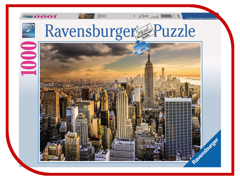 Пазл Ravensburger Большой Нью-Йорк 19712