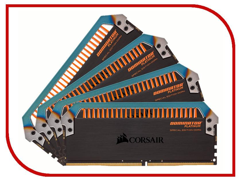 Модуль памяти Corsair Dominator Platinum Special Edition Torque DDR4 DIMM 3200MHz PC4-25600 CL14 - 32Gb KIT (4x8Gb) CMD32GX4M4C3200C14T