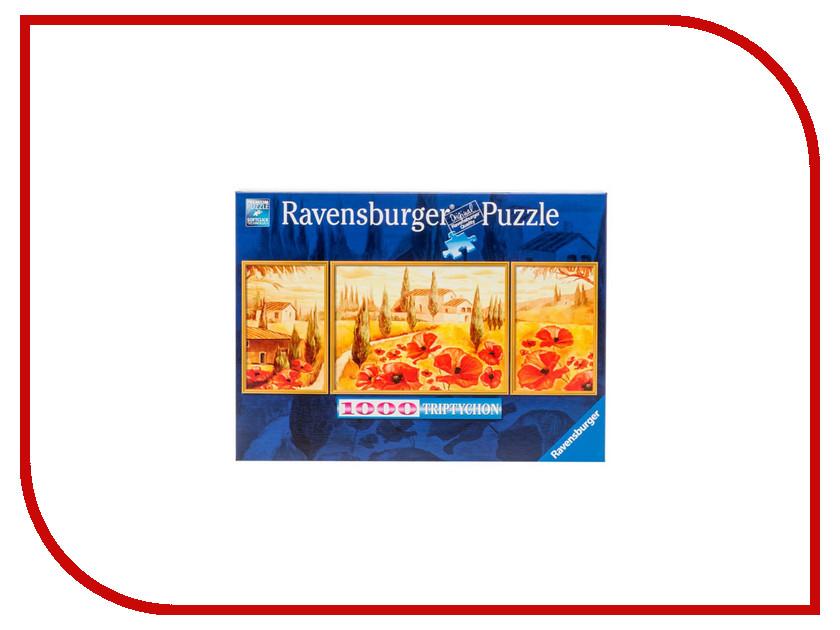 Пазл Ravensburger Триптих Маки Тосканы 19994 ravensburger маки тосканы пазл триптих 1000 элементов