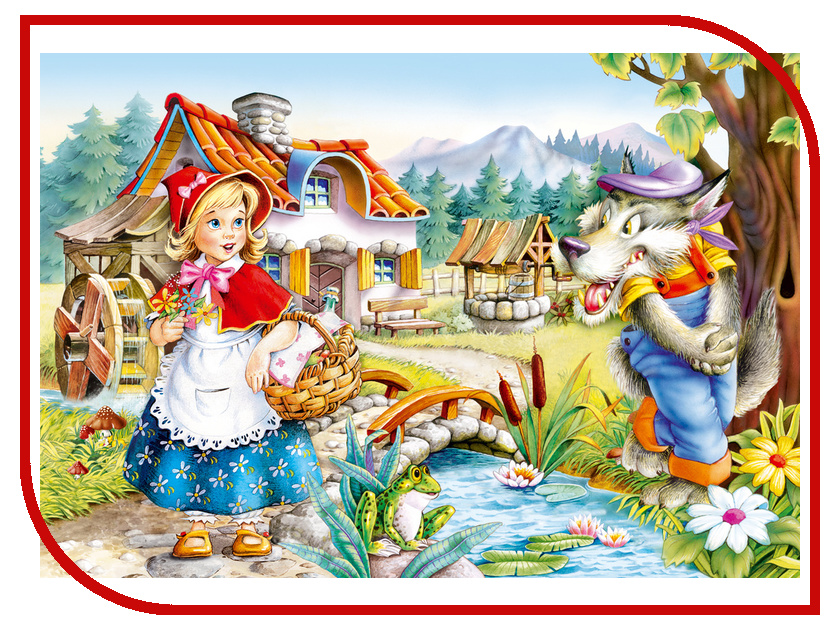 Пазл Castorland Красная Шапочка Puzzle-260 B-26364