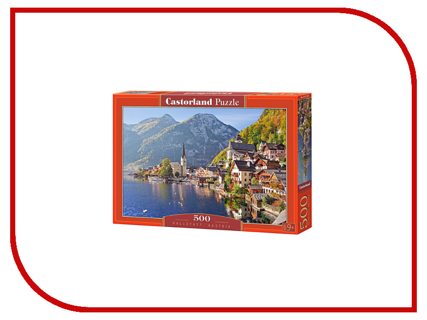 Пазл Castorland Гальштадт Австрия Puzzle-500 B-52189