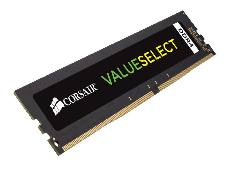 Модуль памяти Corsair ValueSelect DDR4 DIMM 2666MHz PC4-21300 CL18 - 16Gb CMV16GX4M1A2666C18