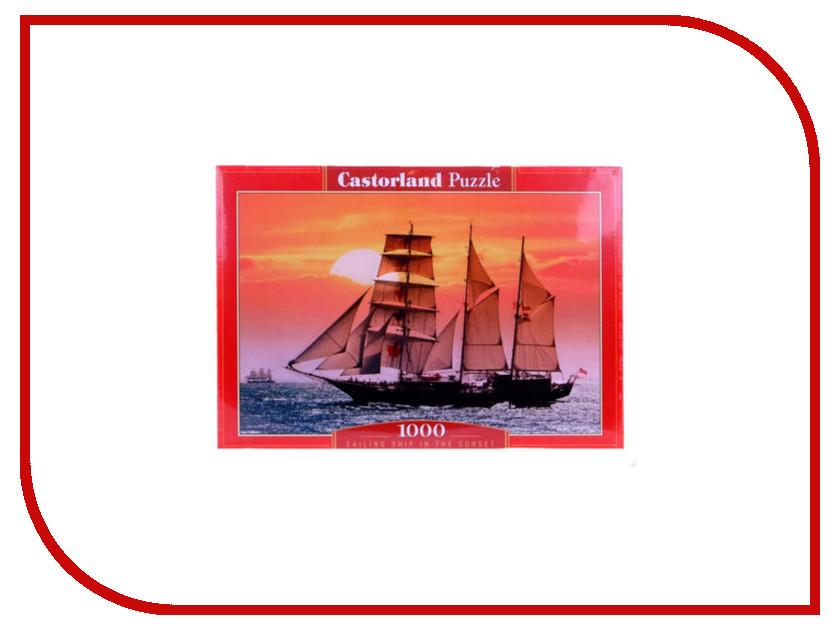 Пазл Castorland Парусник на закате Puzzle-1000 C-100392