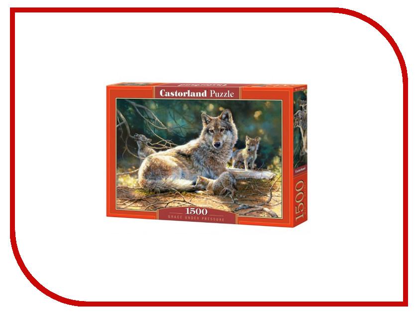 Пазл Castorland Волки Puzzle-1500 C-151400 castorland пазл дюймовочка 4 в 1