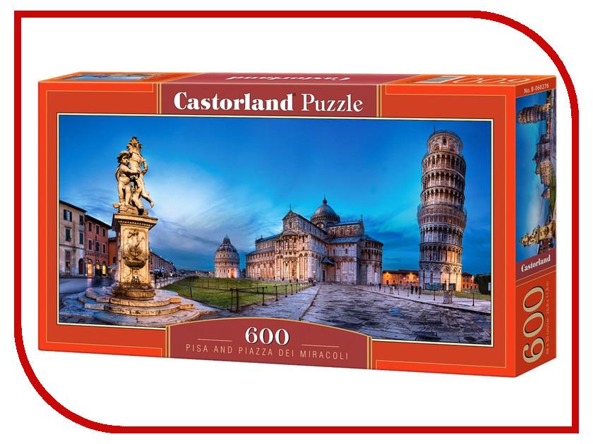 Пазл Castorland Пиза Италия Puzzle-600 B-060276 castorland пазл дюймовочка 4 в 1