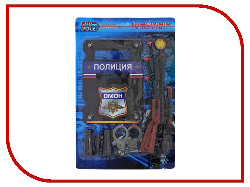 Игра BeBoy Набор Полиция IT100551 58x38x4cm игрушечное оружие beboy игровой набор бесстрашный рыцарь it100539