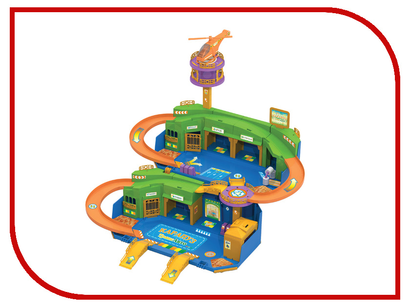 Нордпласт Гараж КарапузТрансАвто 431226 игровые наборы нордпласт гараж автопаркинг 2