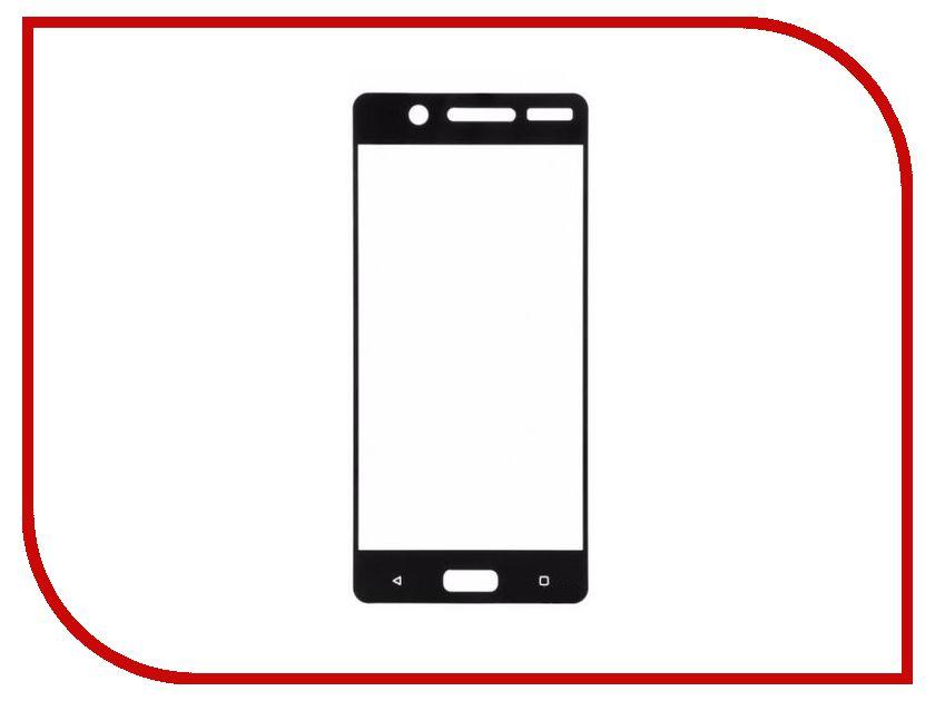 Аксессуар Защитное стекло Nokia 5 BoraSCO Full Cover Black аксессуар защитное стекло meizu u10 borasco 0 2mm