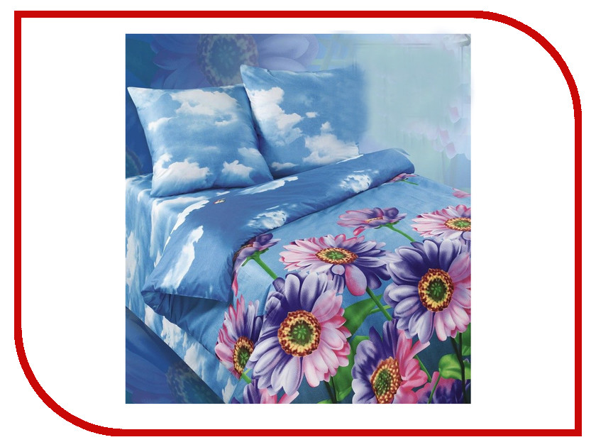 Постельное белье Экзотика 363 Комплект 2 спальный Сатин постельное белье рагнеда сатин 2 спальный